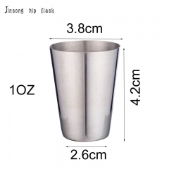 25ML /50ML stainlesss steel Shot glass